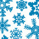 8 Snowflake Vectors - GraphicRiver Item for Sale
