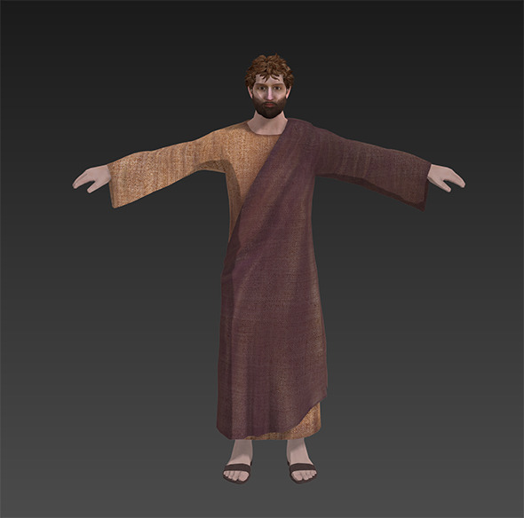 Peter, the apostle - 3DOcean Item for Sale