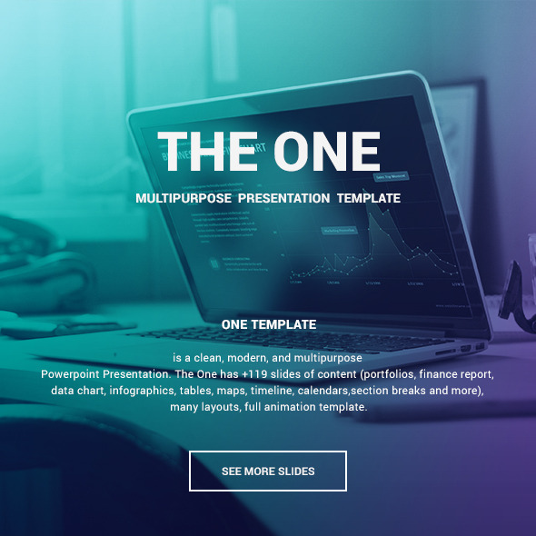 The One - Unique Template - Creative PowerPoint Templates