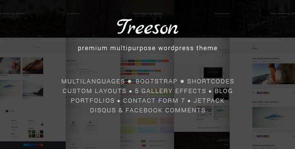 Treeson – Multipurpose WordPress Theme