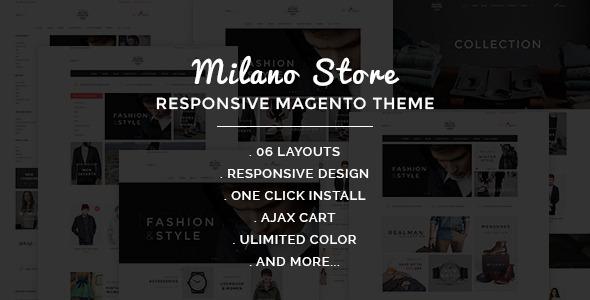 Milano - Fashion Responsive Magento Theme
