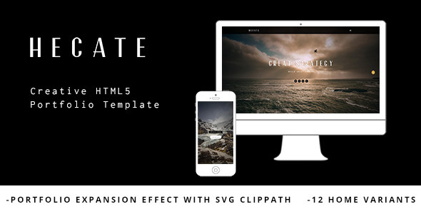 Hecate – Creative HTML5 Portfolio Template