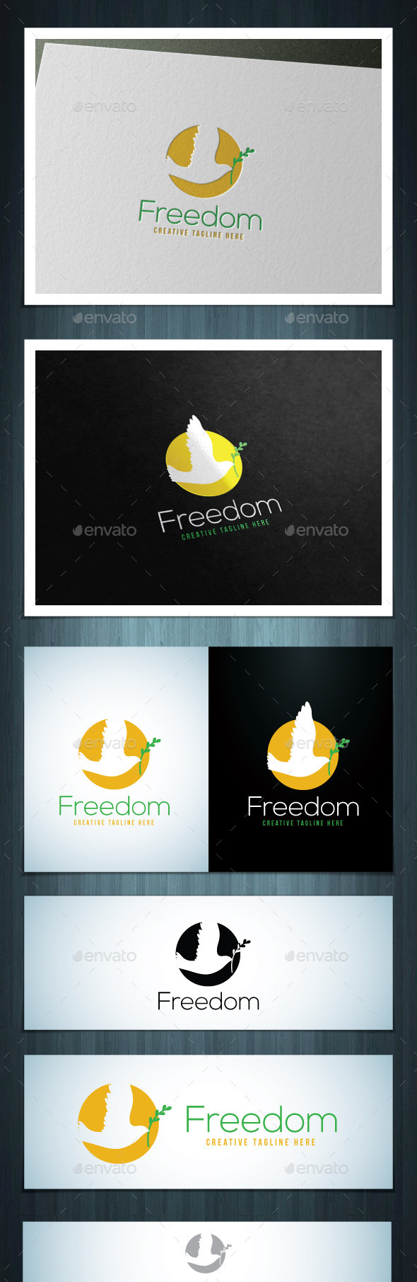 Freedom - Vector Abstract