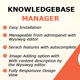 Knowledge Base Manager - CodeCanyon Item for Sale