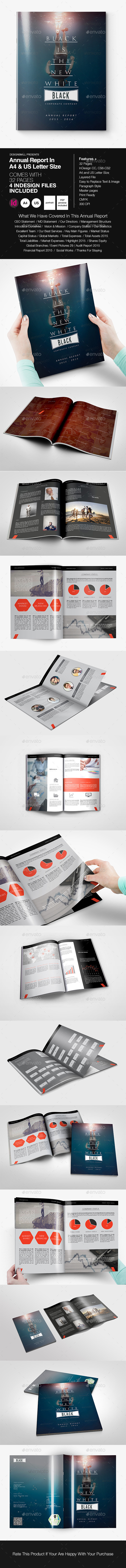 Annual Report - Miscellaneous Print Templates