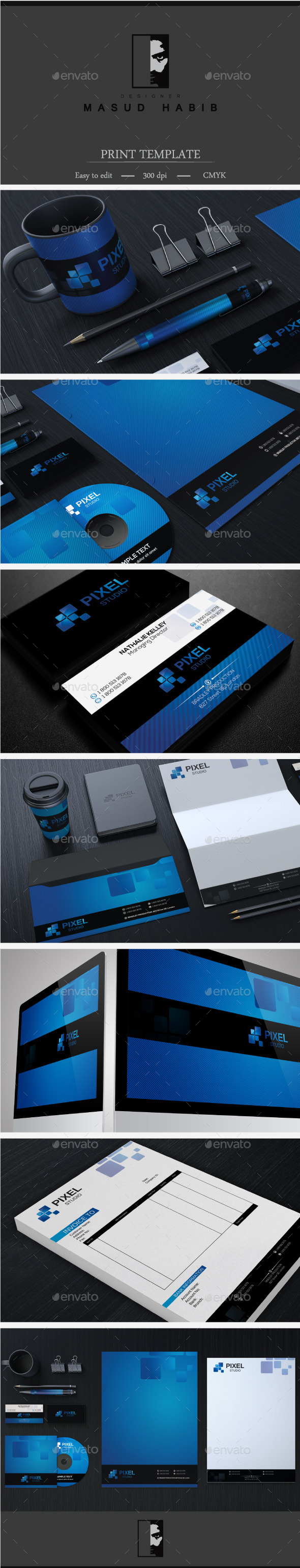 Creative Corporate Identity 23 - Stationery Print Templates