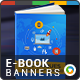 Web Marketing E-Book Banners - GraphicRiver Item for Sale