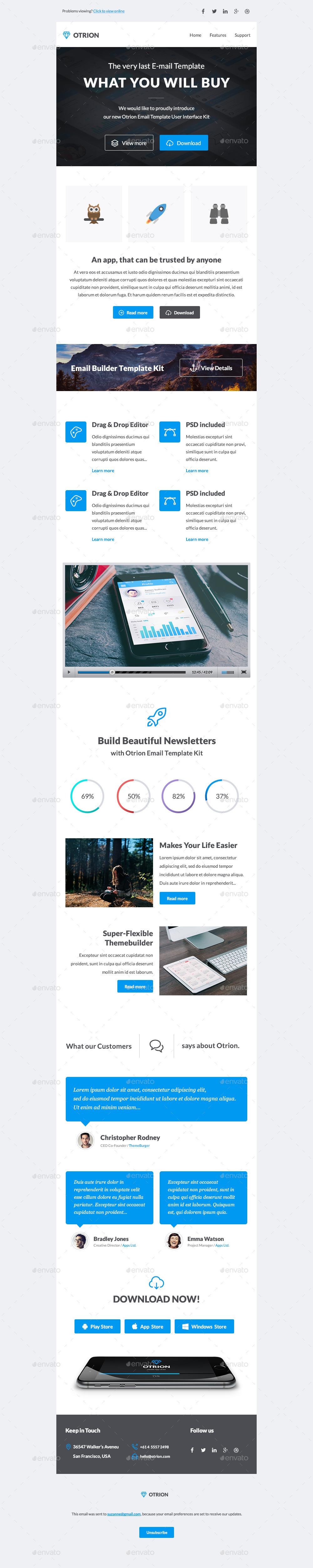 otrion e mail template builder by megyunkborabora graphicriver. Black Bedroom Furniture Sets. Home Design Ideas