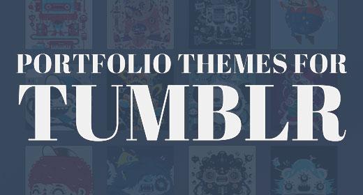 Tumblr Portfolio Themes