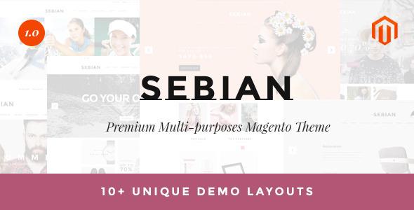 Sebian – Multipurpose Responsive Magento Theme
