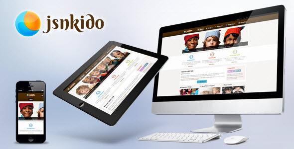 JSN Kido – Responsive Theme & VirtueMart support