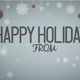 Happy Holidays - Snowy Animation - VideoHive Item for Sale