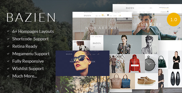 Bazien – Shopify Theme