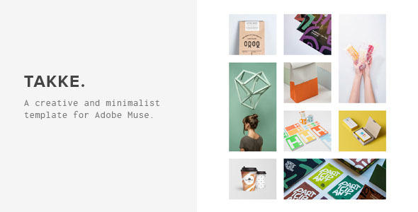 Takke - Creative Muse Template
