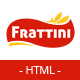 Frattini | A Premium Restaurant, Cakes and Coffee Shop Template Nulled