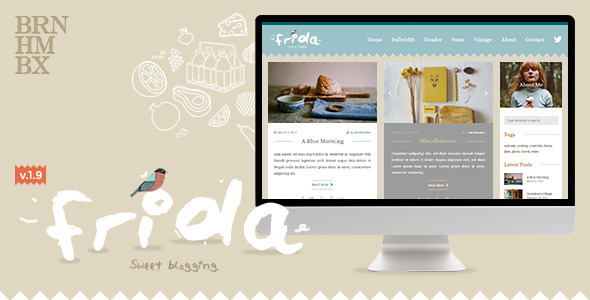Frida – A Sweet & Classic Blog Theme