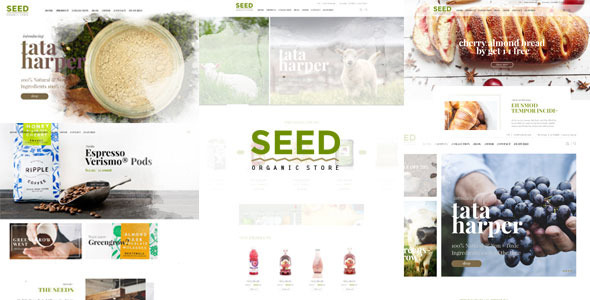 SEED - Organic Shop Farm Food Coffee Cosmetic Bio