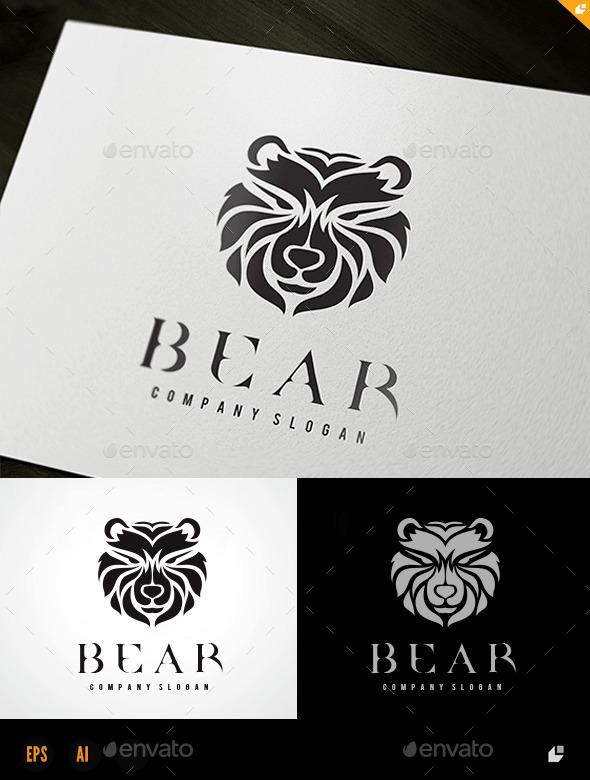 Bear - Animals Logo Templates