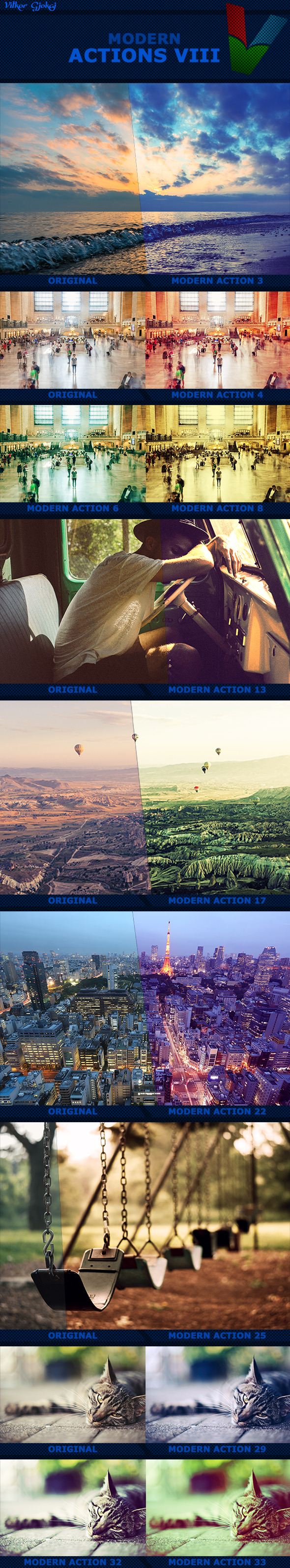 40 Modern Actions VIII - Photo Effects Actions