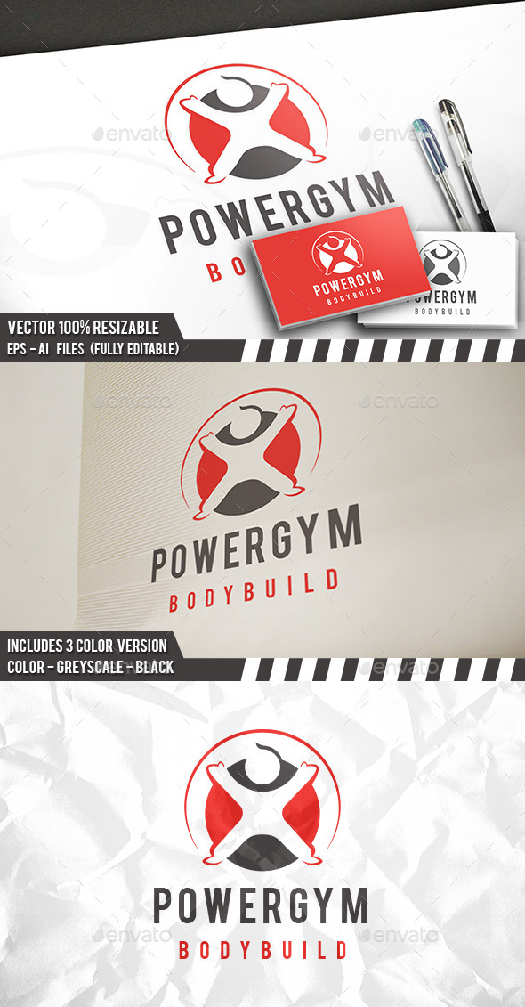 Fitness Health Logo - Humans Logo Templates