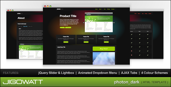 photon_dark - Business Corporate