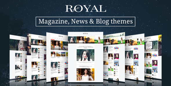 Royal – Responsive WordPress News, Magazine, Blog