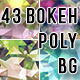 Bokeh Polygonal Backgrounds Bundle - GraphicRiver Item for Sale
