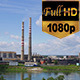 Factory Behind the Lake - VideoHive Item for Sale