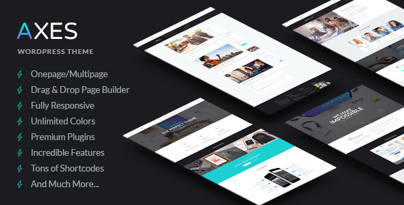 Axes | Multi-Purpose Responsive WordPress Theme