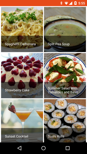 Cookbook recipe app for android by robotemplates codecanyon cookbook recipe app for android forumfinder Gallery