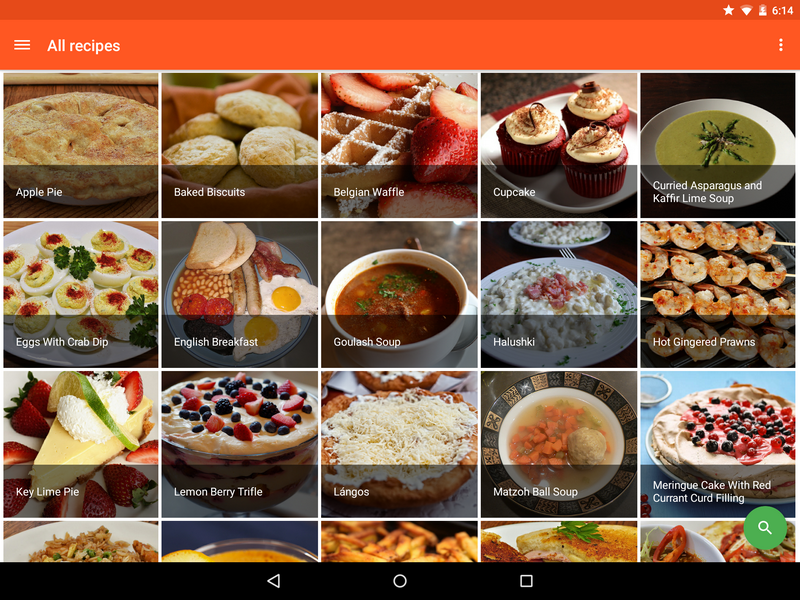 Cookbook recipe app for android by robotemplates codecanyon cookbook recipe app for android forumfinder Image collections