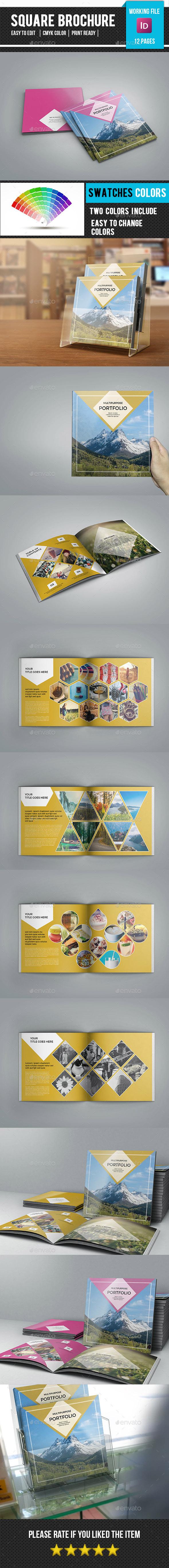 Square Multipurpose Portfolio Brochure-V68 - Catalogs Brochures