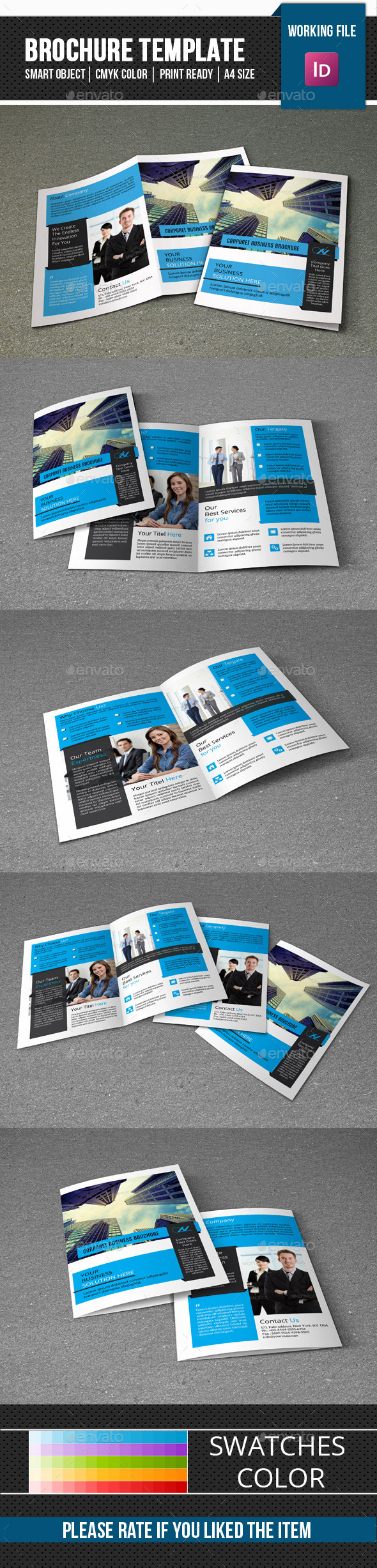 Business Brochure Template-v278 - Corporate Brochures