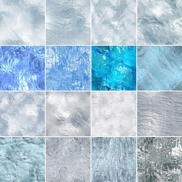 16 seamless ice textures - Nature Textures