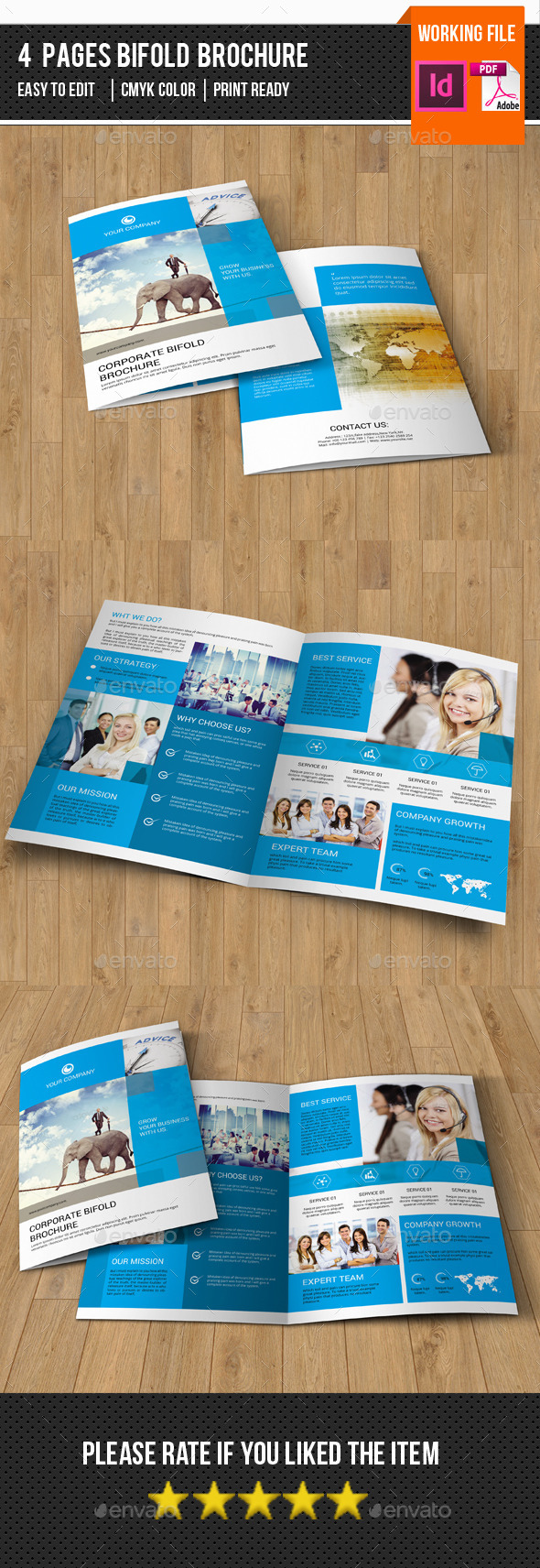 Business Brochure Template-v279 - Corporate Brochures