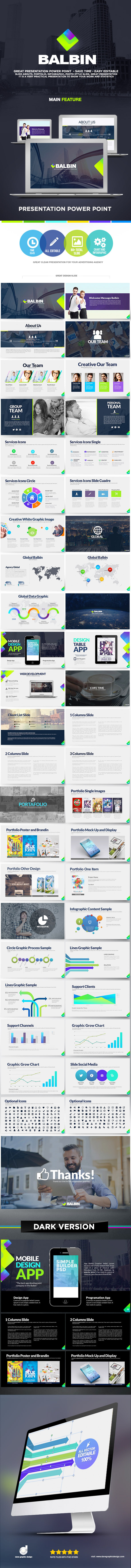 Balbin Presentation Power Point - Creative PowerPoint Templates