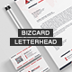 Letterhead & Business Card V.1 - GraphicRiver Item for Sale