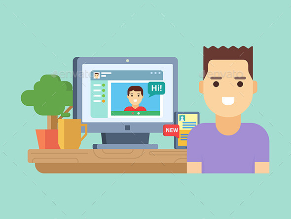 Online Social Communication - Computers Technology