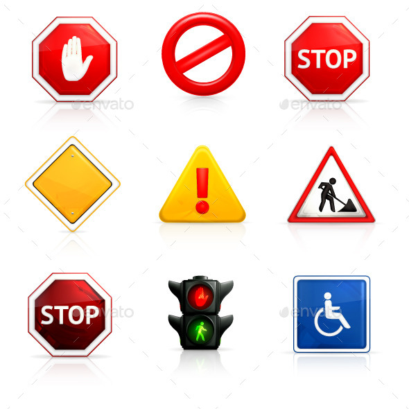 Road Signs - Miscellaneous Conceptual