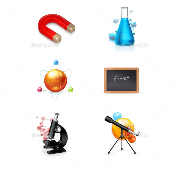 Science Vector Icons - Miscellaneous Vectors