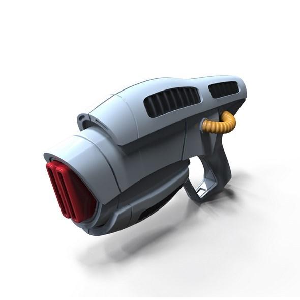 Alien Weapon W - 3DOcean Item for Sale