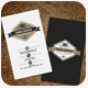 vertical Retro Vintage Business Card Template - GraphicRiver Item for Sale