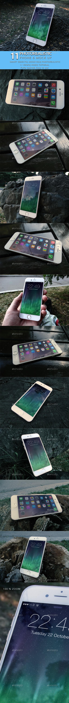 Phone 6 Mock Up - Mobile Displays
