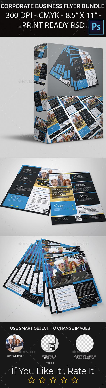 Corporate Business Flyer Bundle - Corporate Flyers