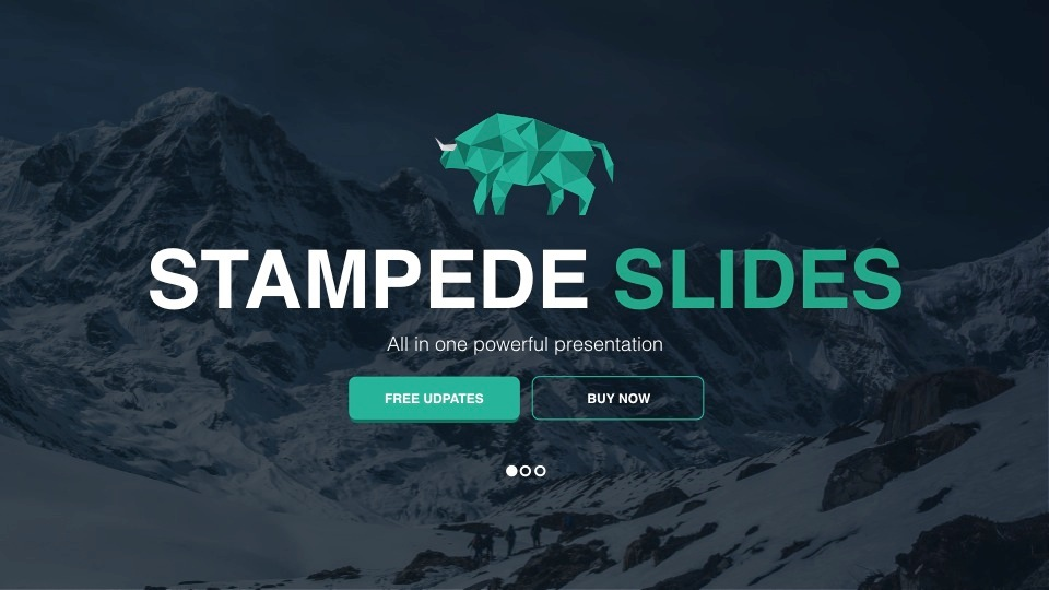 Stampede - Multipurpose Powerpoint Template