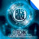 Futuristic DJ Club Flyer and Poster Template Vol.1