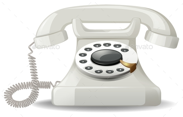 Telephone - Objects Vectors