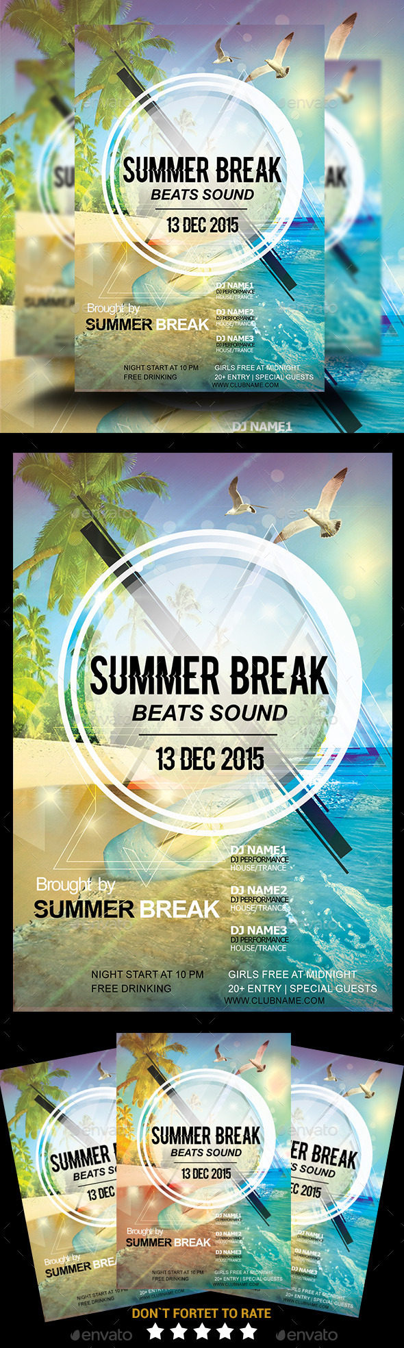 Summer Break Beach Party - Concerts Events