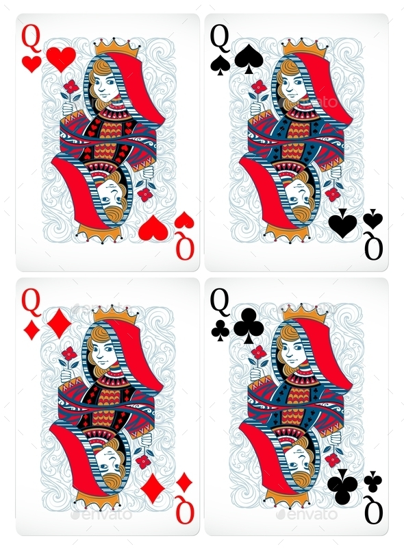 Poker Cards - Objects Vectors