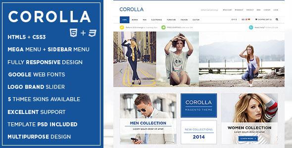 Corolla - Responsive Multipurpose HTML5 Template - Shopping Retail
